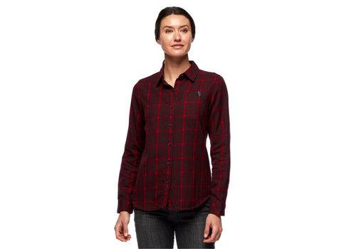 Black Diamond W's Serenity LS Flannel Shirt