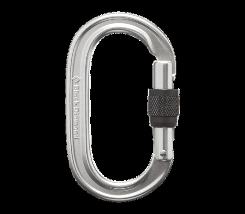 Oval Keylock Screwgate Carabiner