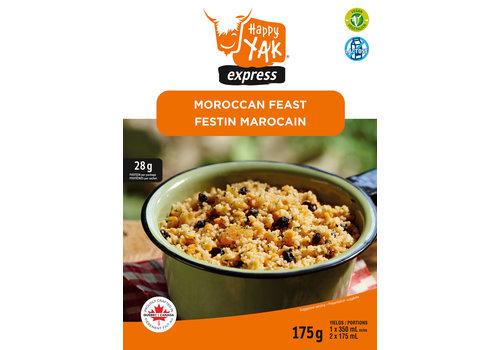 Happy Yak Express Moroccan Feast