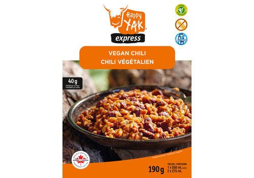 Happy Yak Express Vegan Chili