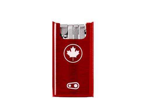 Crank Brothers F10 + Tool Canada Red Case