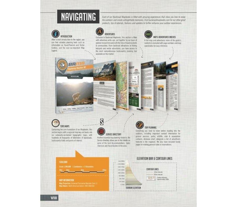 Kootenay Rockies BC Mapbook