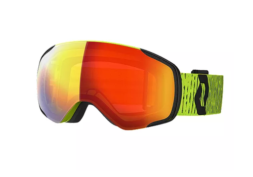 Scott Vapor Goggle - Yellow with Enhancer Red Chrome
