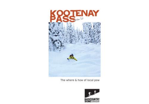 Backcountry Skiing Canada Kootenay Pass Ski Touring Map 2.0