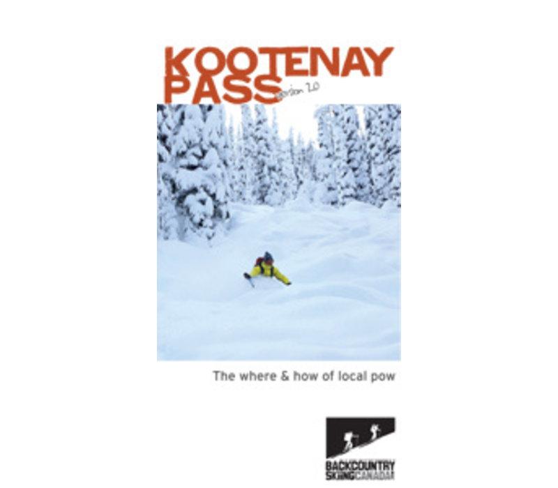 Kootenay Pass Ski Touring Map 2.0
