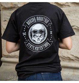 Haynes / Beefy-T / Ringspun Black Skull - Tee