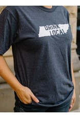 Port and Co Ringspun Drink Local - Tee / SS