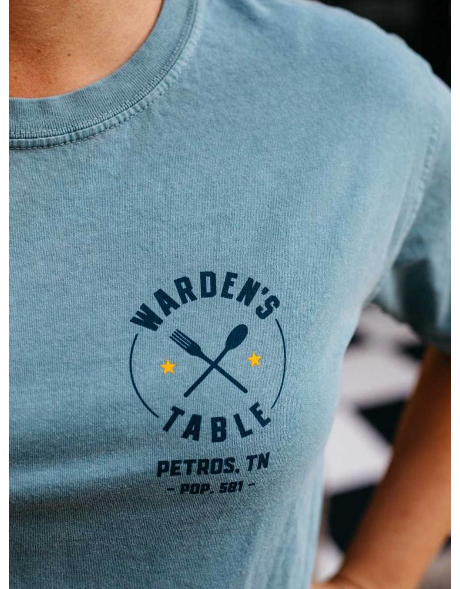 Comfort Colors tee Wardens Table - Tee / SS