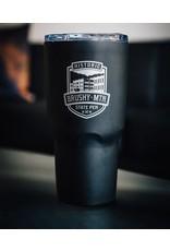 Ad Specialties Kong Brushy Logo - Stainless Black - 30oz