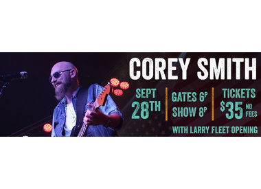 LIVE at Brushy: Corey Smith