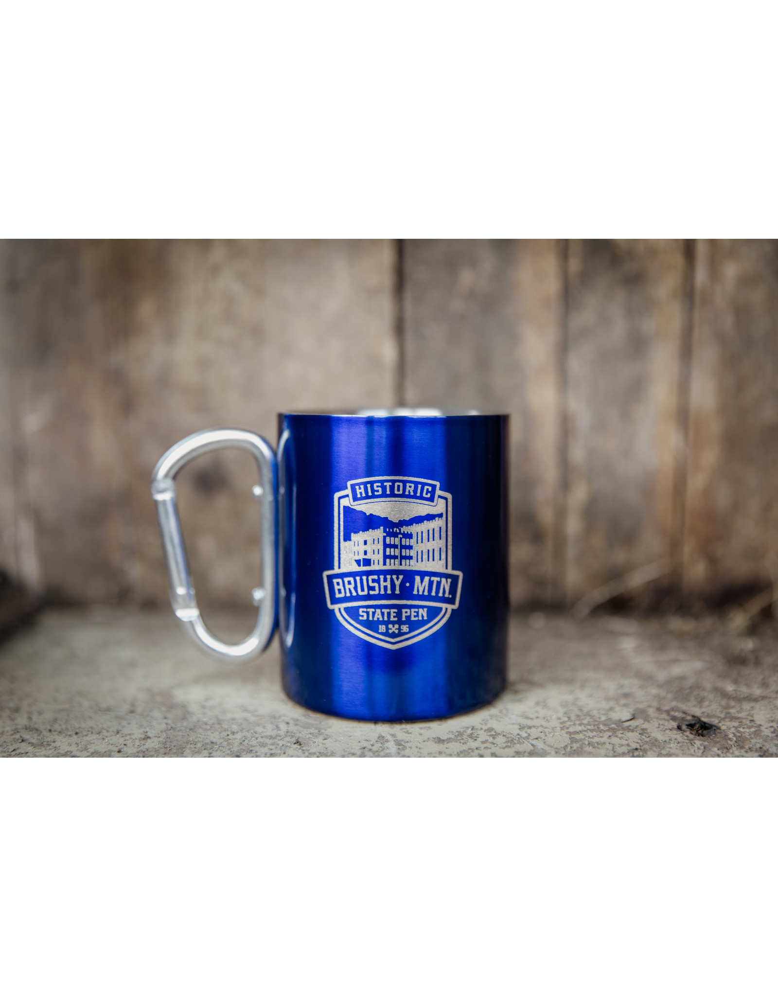 10 oz Carabiner Handle Travel Mug