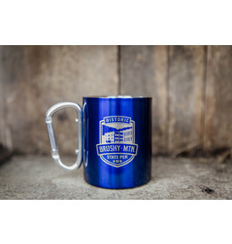 10 oz Carabiner Handle Travel Mug