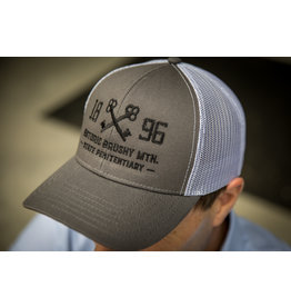 Outdoor Cap Charcoal Mesh Key Logo Hat w Name