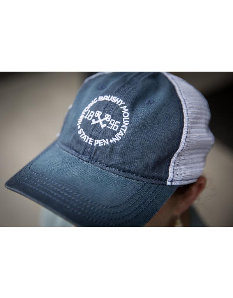 Outdoor Cap Circle Keys - Mesh - Navy/White