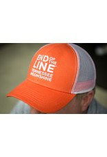 Outdoor Cap End of the Line - Hat - Orange/White