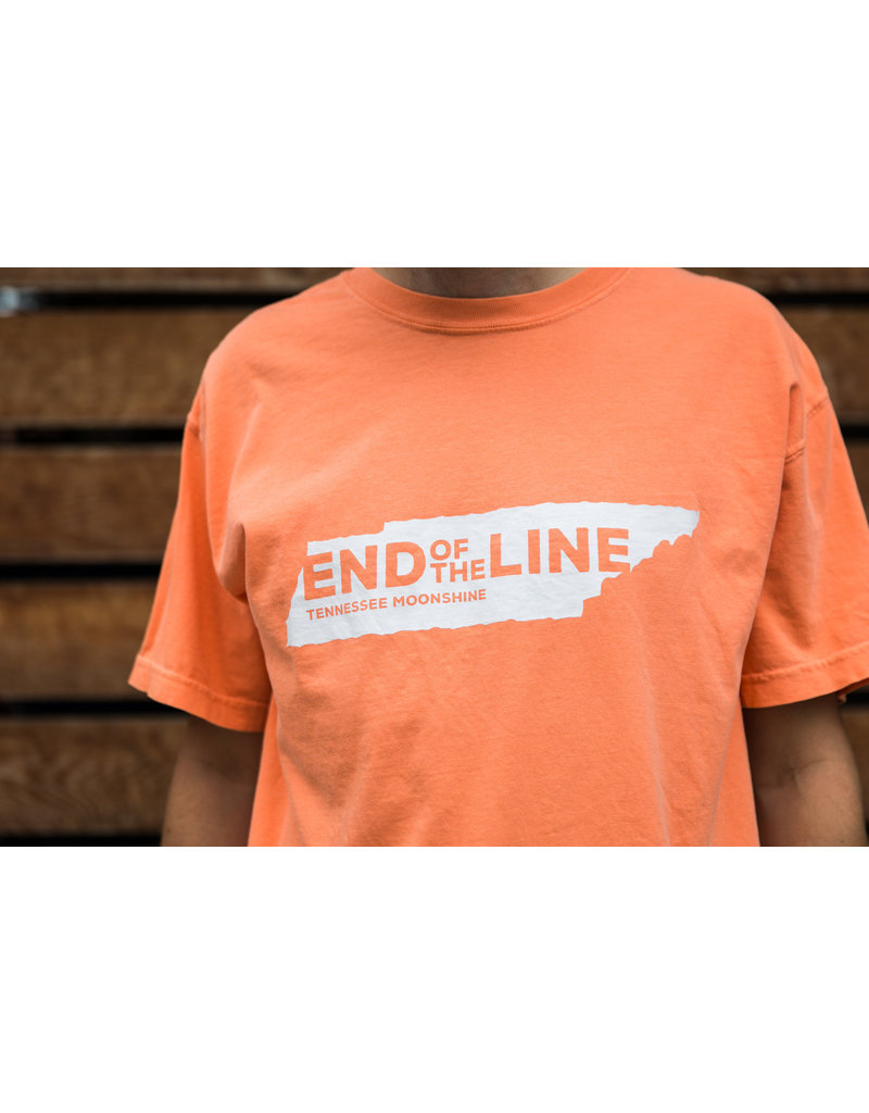 Comfort Colors tee End of the Line - Tee / SS