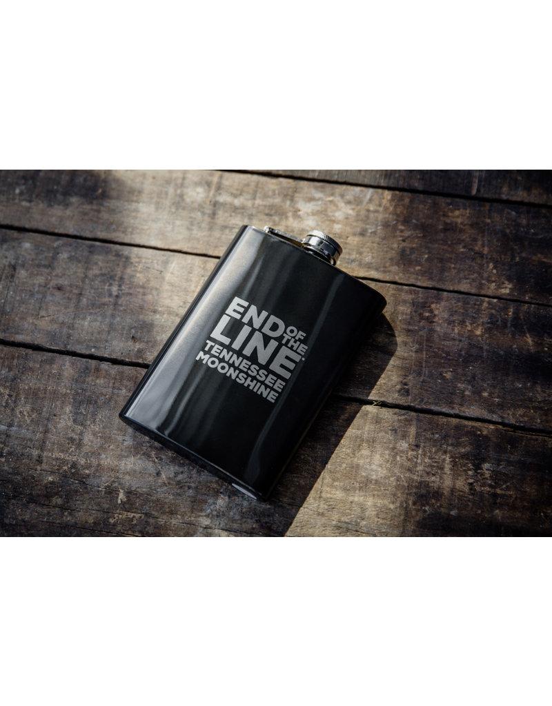 Graphite Black 8 oz Flask