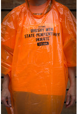 Rain Poncho - Orange