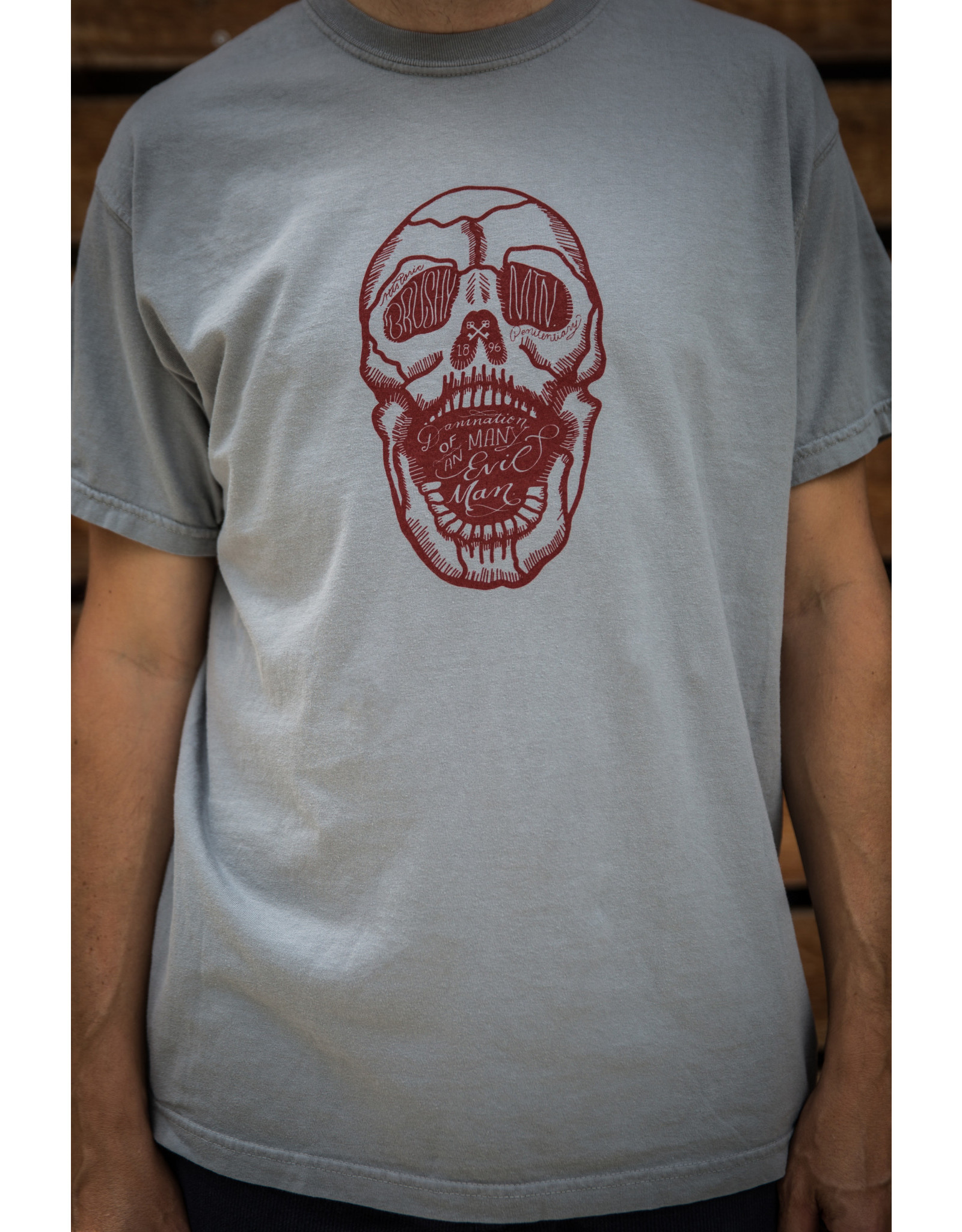 Comfort Colors tee Skull Damnation / SS