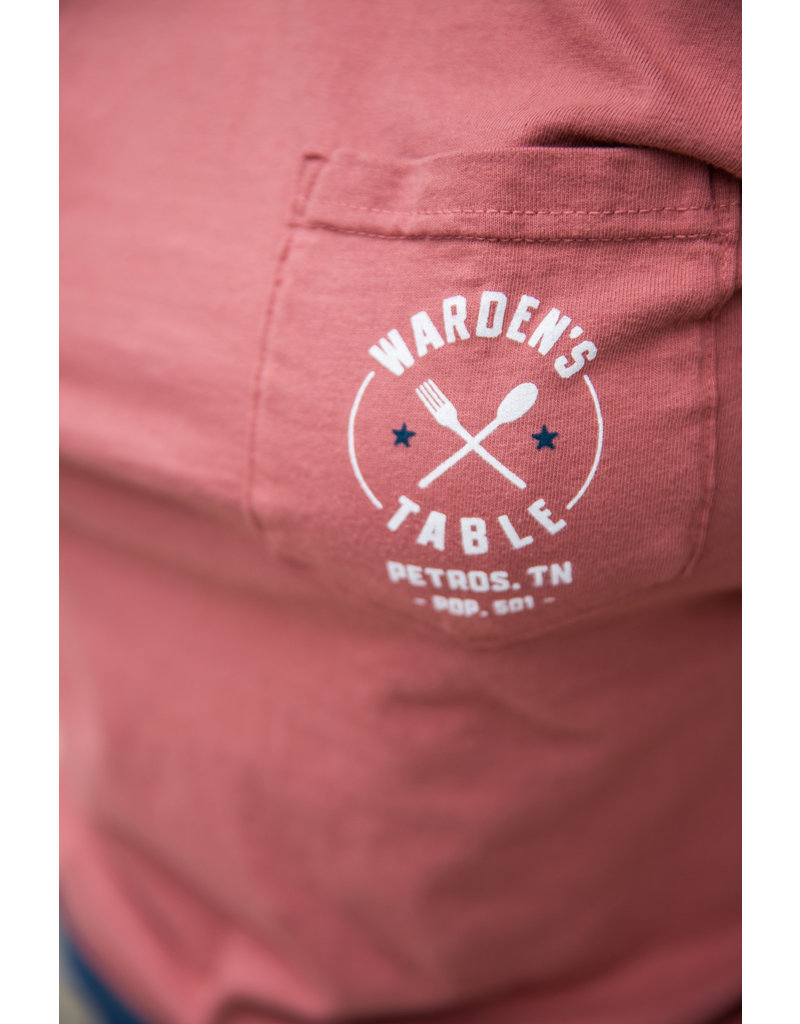 Comfort Colors tee Wardens Table - Pocket Tee/ SS