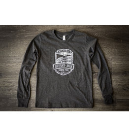Bella Canvas Brushy Shield Logo Kids - LS / Tee