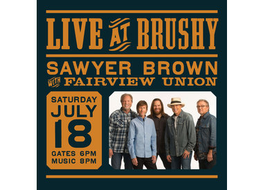 LIVE at Brushy: Sawyer Brown