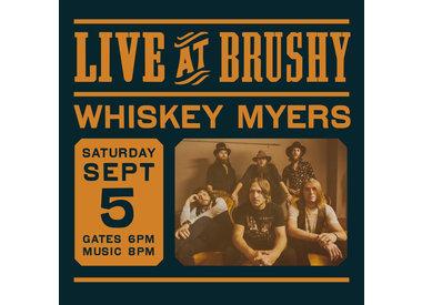 LIVE at Brushy: Whiskey Myers