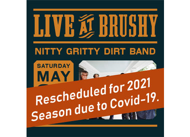 LIVE at Brushy: Nitty Gritty Dirt Band