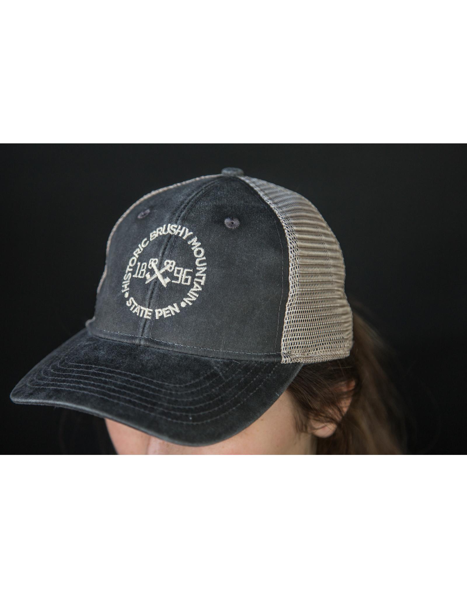 Outdoor Cap Pony Caps - Key Logo - Black/Tea Stain