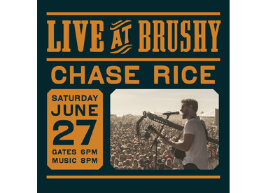 LIVE at Brushy: Chase Rice