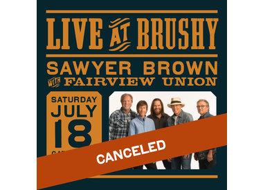 LIVE at Brushy: Sawyer Brown