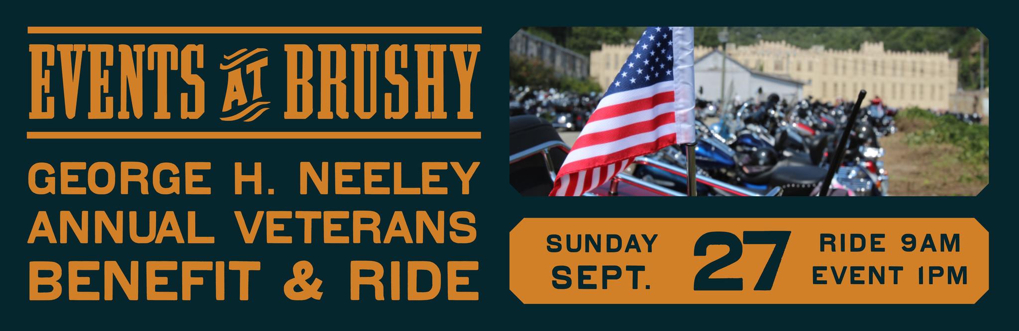 George H. Neeley Annual Veterans Benefit & Ride