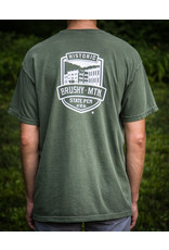 Comfort Colors tee Distressed Shield - Tee/ SS