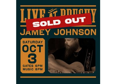 LIVE at Brushy: Jamey Johnson