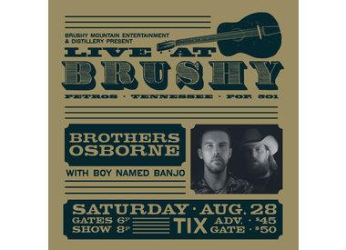 LIVE at Brushy: Brothers Osborne