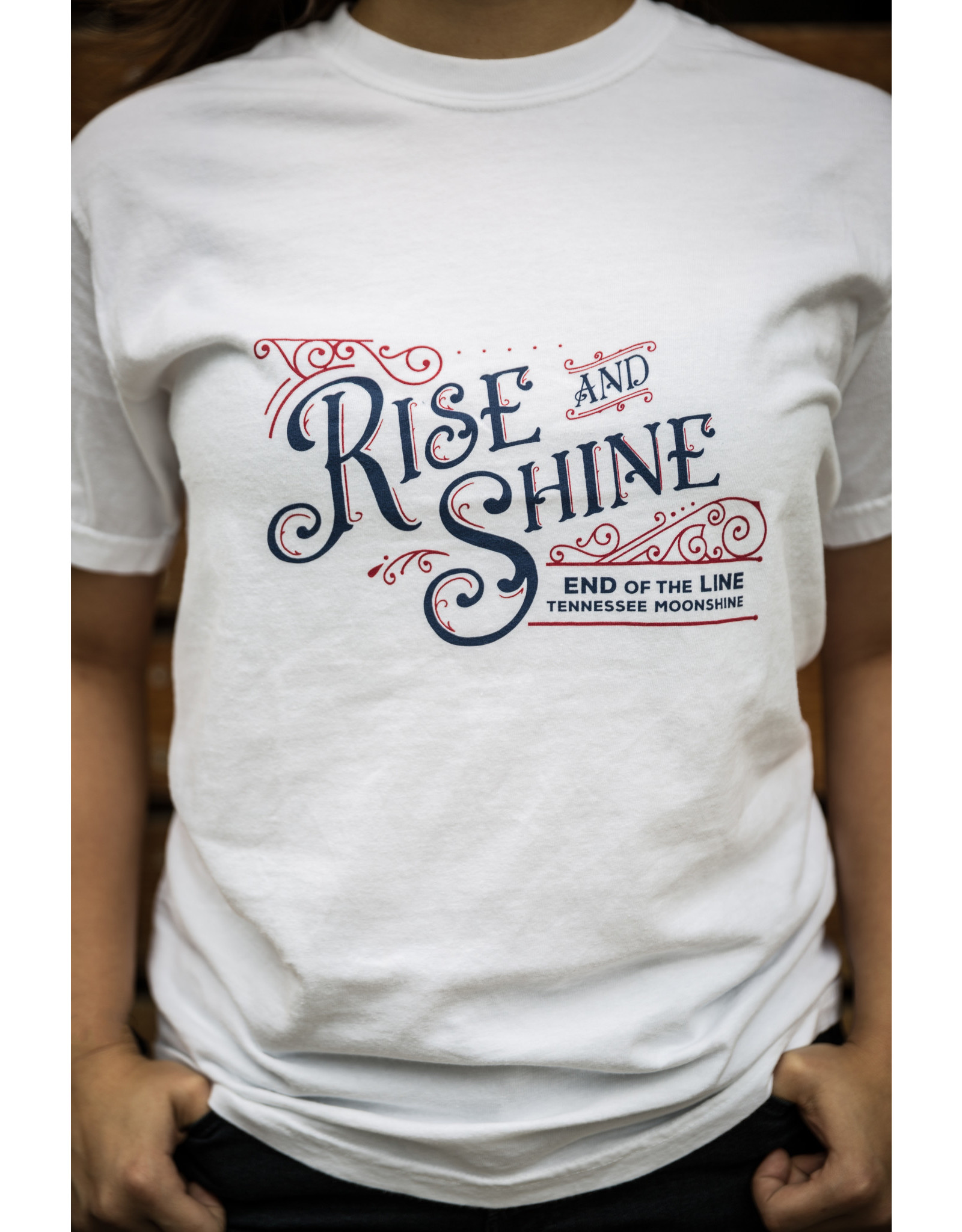 Comfort Colors tee Rise & Shine - Tee / SS