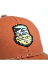 Outdoor Cap Brushy Logo Mesh Hat
