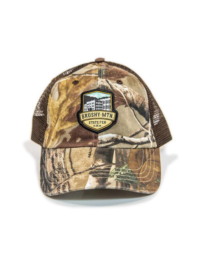 Outdoor Cap Brushy Logo Mesh Hat - Camo