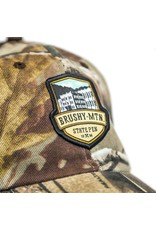 Outdoor Cap Brushy Logo Mesh Hat - Camo