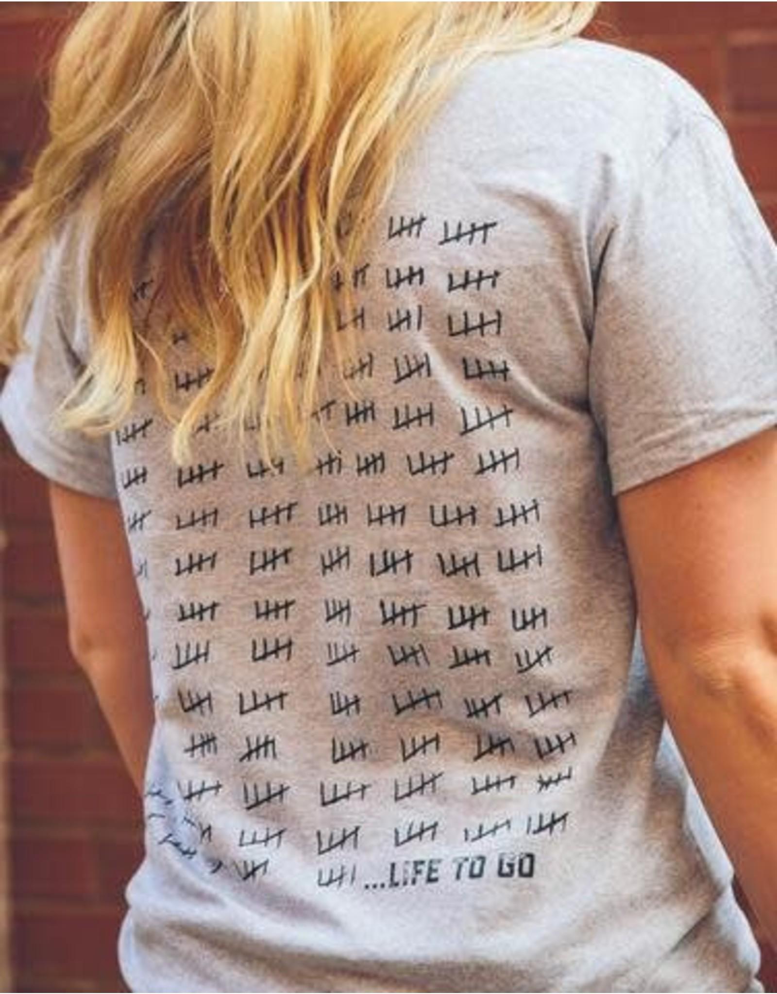 Brushy T-Shirt - Circle Keys Life To Go - Tee / SS