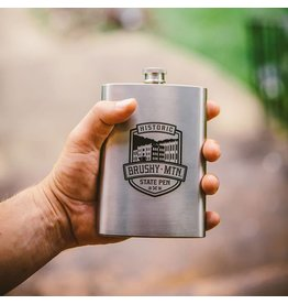 Brushy Stainless Flask Brushy Stainless Flask