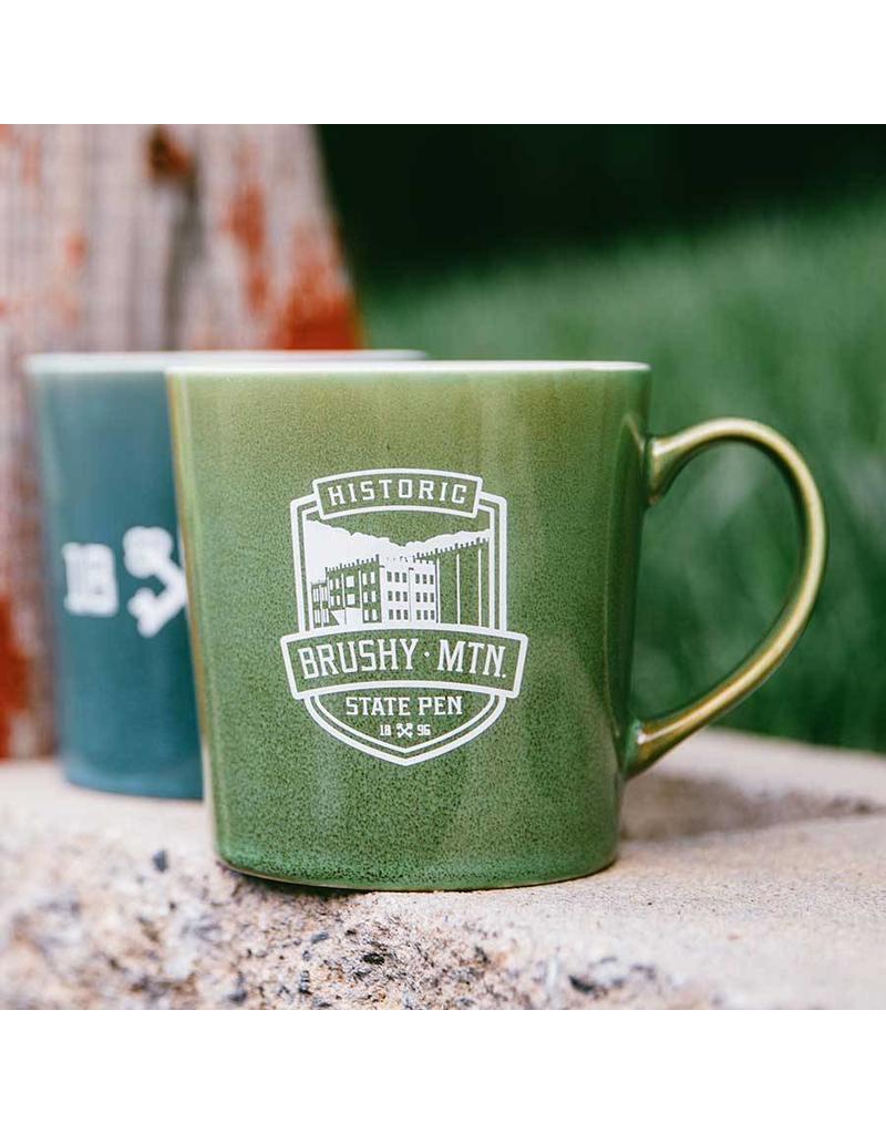 1896 Mona Coffee Mug Brushy Logo Mona Coffee Mug