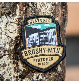 Brushy Logo Patch Brushy Logo Patch