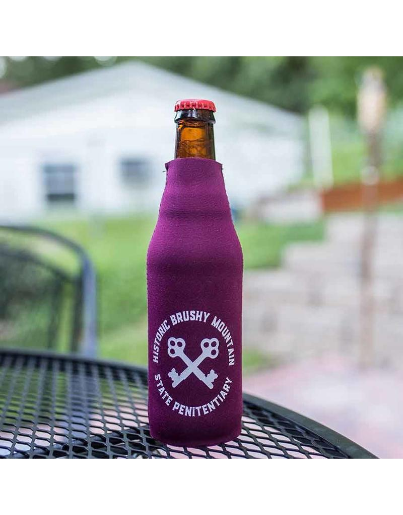 Brushy Circle Keys Bottle Koozie Circle Keys / Bottle Koozie w/zipper