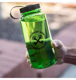 Black Water Bottle Brushy Circle Keys Water Bottle - 30oz / Green