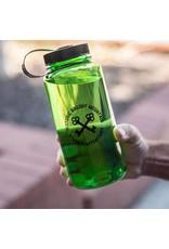 Black Water Bottle Brushy Cirlce Keys Water Bottle - 30oz / Green