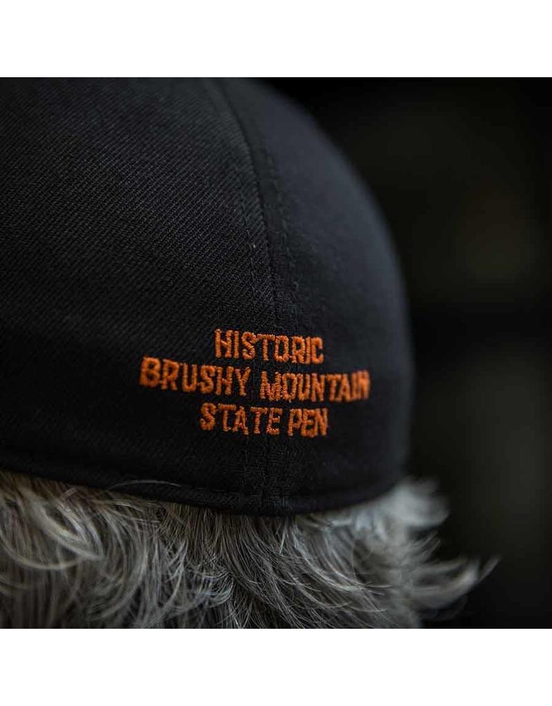 Port Authority Flex Fit Flat Brim Flex Fit Hat / Brushy Keys