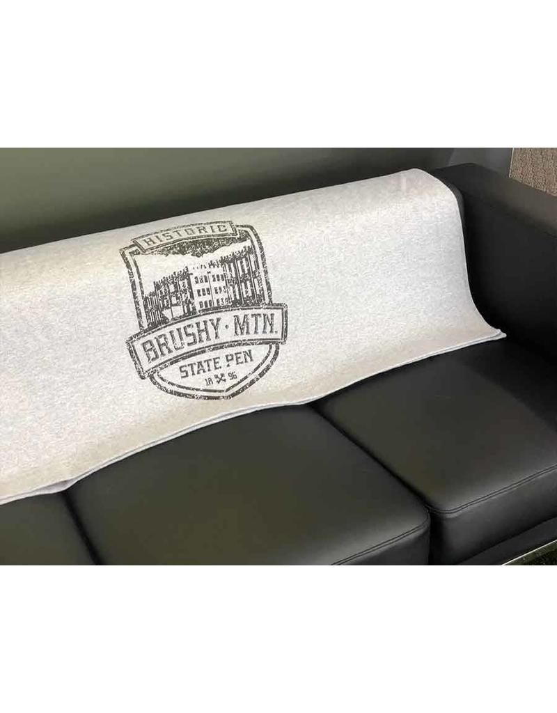 Gildan 50x60 Stadium Blanket - Brushy Shield Logo