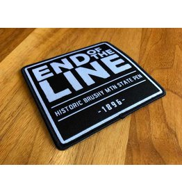 custom werks Patch - End of the Line Large