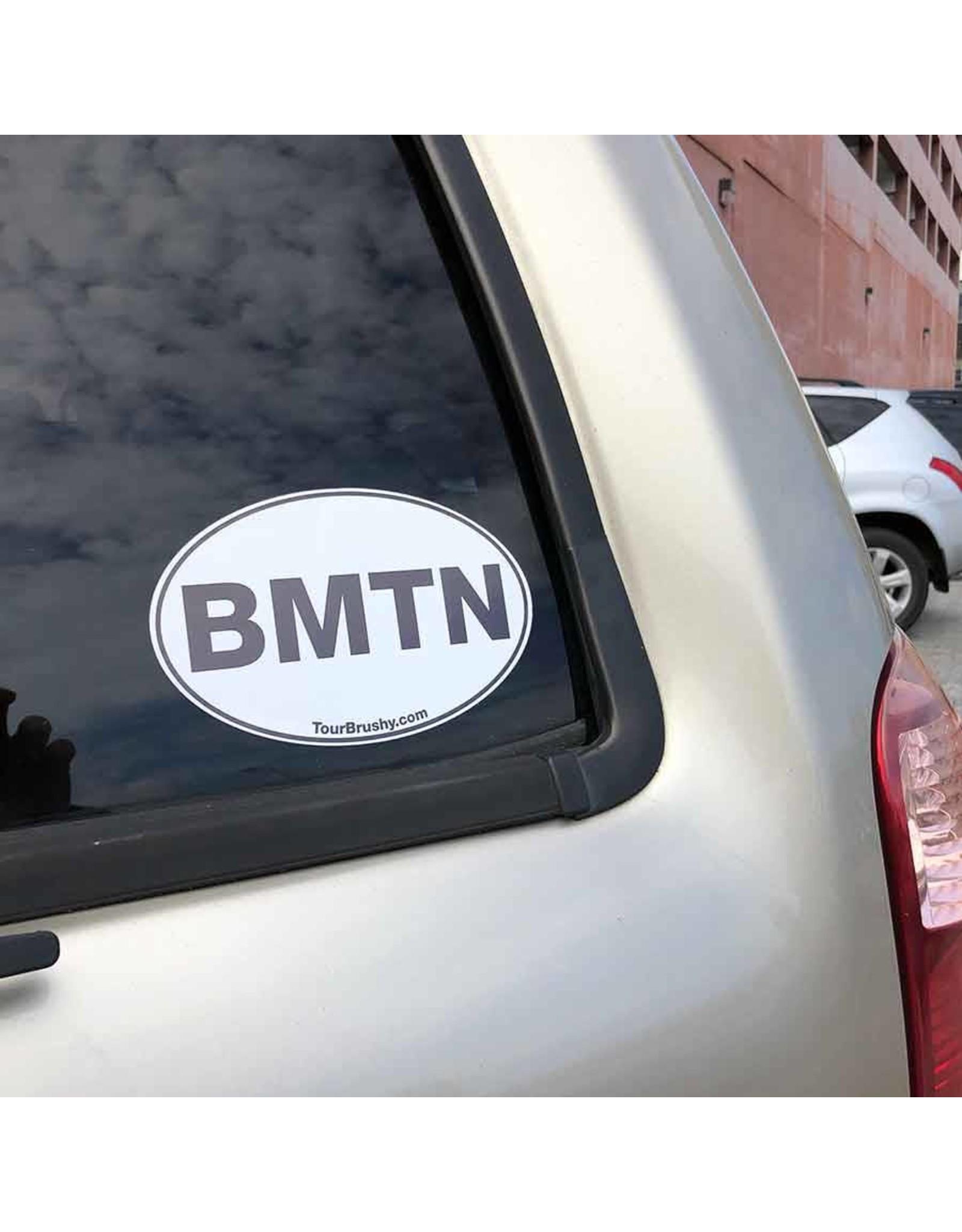 custom werks Bumper Sticker - BMTN Oval